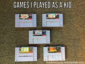 super nintendo video games