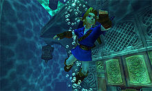 ocarina of time graphics double jump
