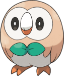 Rowlet Pokemon Double Jump