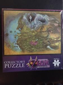 The Legend of Zelda Majora's Mask map puzzle Double Jump