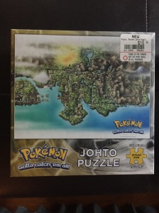 Pokemon Johto region map puzzle Double Jump