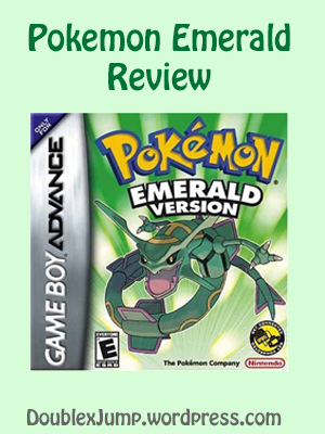Pokemon Emerald game review Double Jump