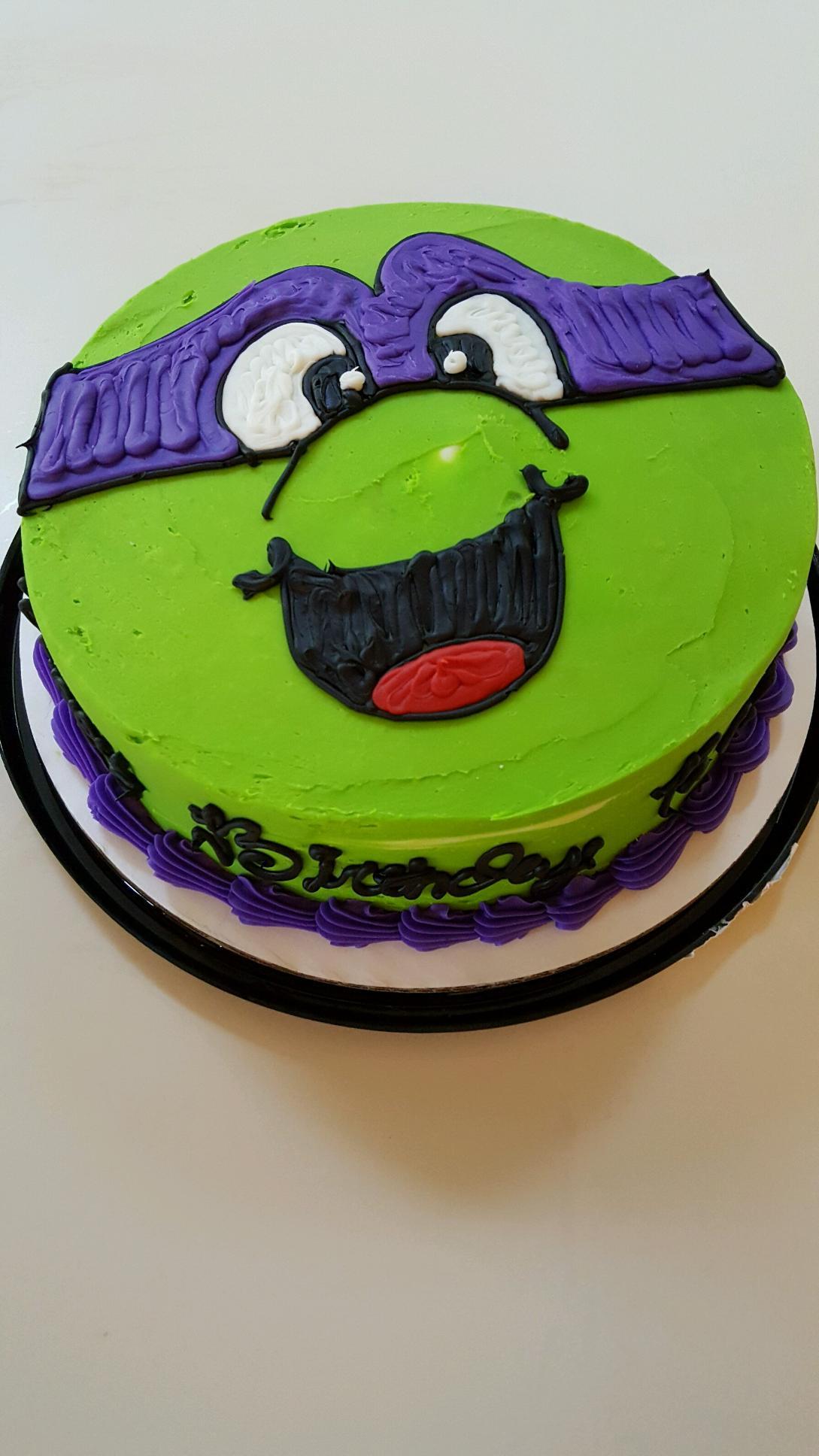 Donatello Birthday Cake