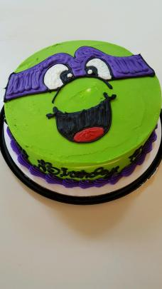 Donatello Birthday Cake