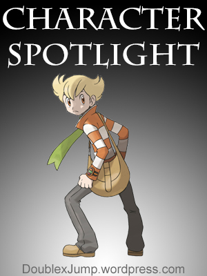 Character Spotlight: Barry from Pokemon Platinum by Double Jump