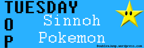 Top Tuesday: Sinnoh Pokemon