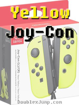 Nintendo Switch | Yellow Joy Con