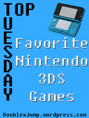 Top Favorite Nintendo 3DS Games