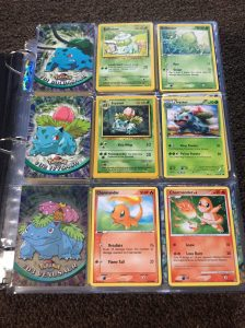 Kanto Pokemon cards