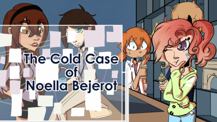 Demo Review of The Cold Case of Noella Bejerot | Visual Novel | Video Games | Murder Mystery | DoublexJump.com