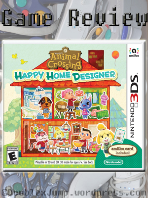 Animal Crossing Happy Home Designer | Game Review | Video Games | DoublexJump.com