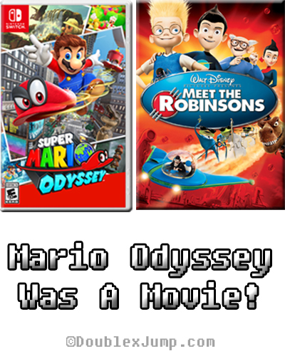 Super Mario Odyssey Was A Movie | Video Games | DoublexJump.com
