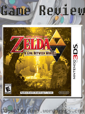 Game Review: A Link Between Worlds | The Legend of Zelda | Nintendo | Video Games | Gaming | DoublexJump.com