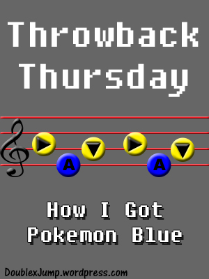 TBT: How I Got My Pokemon Blue Game | Nintendo | Gameboy Color | Pokemon | Video Games | Gaming | DoublexJump.com