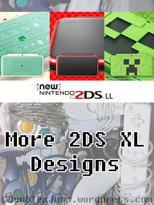 More 2DS XL Designs | Nintendo | Nintendo 2DS | Gaming | Gaming News | Video Games | DoublexJump.com