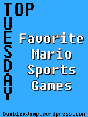 Favorite Mario Sports Games | Nintendo | Mario Bros. | Video Games | Gaming | DoublexJump.com