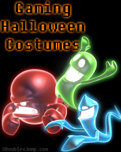 Gaming Halloween Costumes | Video games | gaming | halloween | halloween costumes | luigi's mansion | ghosts | blogging | DoublexJump.com