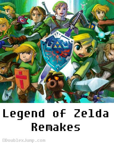 The Legend of Zelda Remakes | Nintendo | Zelda Month | Blogging | Video Games | Gaming | DoublexJump.com