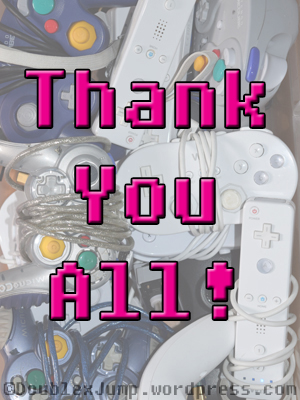 Thank You | Thanksgiving | Video games | gaming | blogging | community | gaming community | blogging community | DoublexJump.com