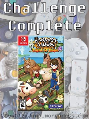 Gaming Challenge: Harvest Moon Light of Hope | Nintendo Switch | Video Games | DoublexJump.com