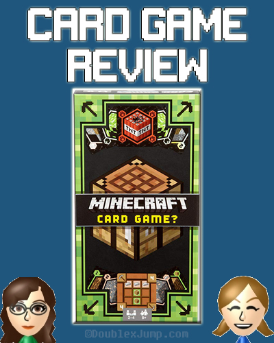Card Game Review: Minecraft Card Game | Gaming | Minecraft | DoublexJump.com