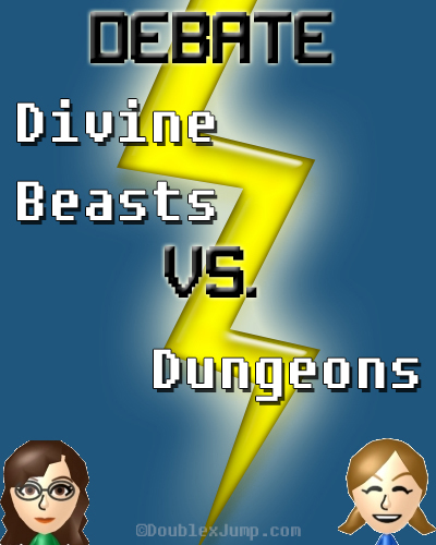 Debate: Divine Beasts Vs Dungeons | The Legend of Zelda | Nintendo | Video Games | Gaming | DoublexJump.com