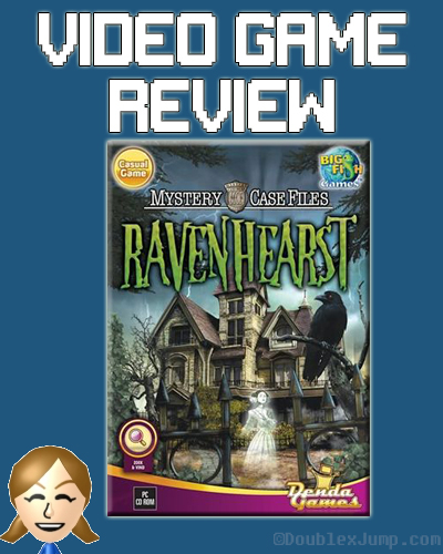 Video Game Review: Mystery Case Files: Ravenhearst | Hidden Object Game | Video Games | Gaming | Game Review | Nintendo 3DS | DoublexJump.com