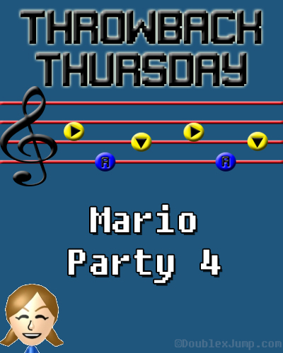 Throwback Thursday: Mario Party 4 | TBT | Nintendo | Gamecube | Super Mario Bros. | Video Games | Gaming | DoublexJump.com