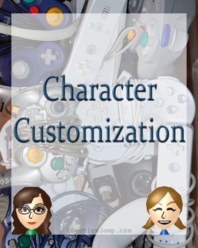 Character Customization | Video Games | Gaming | DoublexJump.com