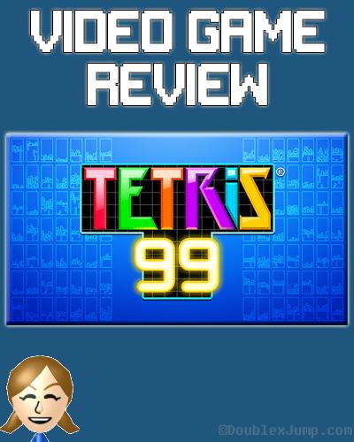 Video Game Review: Tetris 99 | Nintendo Switch | Nintendo | Video Games | Gaming | Game Review | Tetris | DoublexJump.com