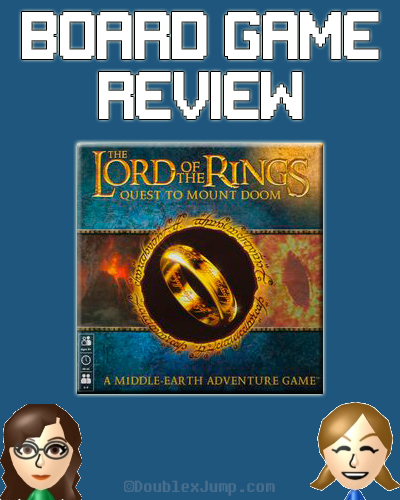 Board Game Review: The Lord of The Rings Quest To Mount Doom | Gaming | Board Games | Game Review | Blogging | Gaming Blog | DoublexJump.com