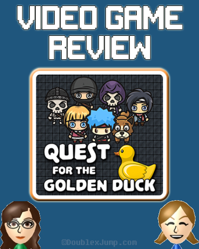 Video Game Review: Quest for the Golden Duck | Nintendo Switch | Video Games | Gaming | Game Review | Nintendo | DoublexJump.com