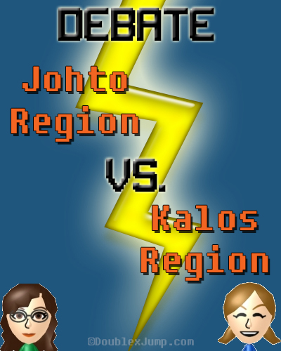 Debate Johto Vs Kalos | Pokemon | Pokemon Regions | Gaming Debates | Video Games | Gaming | Nintendo | DoublexJump.com