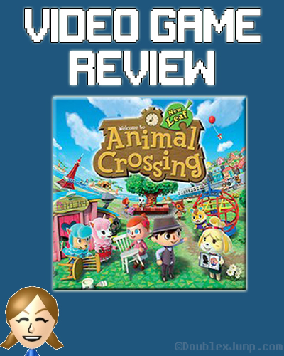 Video Game Review: Animal Crossing New Leaf | Nintendo | Nintendo 3DS | Animal Crossing | Game Review | Video Games | Gaming | DoublexJump.com