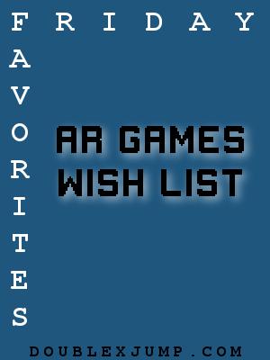 AR Games | Augmented Reality | Video Games | AR | Nintendo | Doublexjump.com