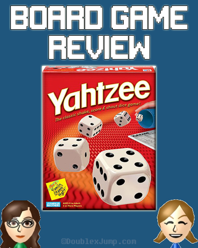 Board Game Review: Yahtzee | Gaming | Review | DoublexJump.com