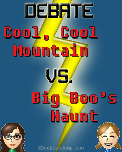 Debate: Cool, Cool Mountain Vs. Big Boo's Haunt | Super Mario 64 Levels | Video Games | Gaming | Nintendo | DoublexJump.com