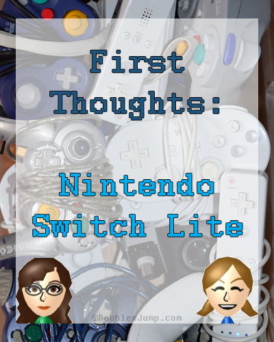 First Thoughts: Nintendo Switch Lite | Nintendo | Video Games | Gaming News | Gaming | DoublexJump.com