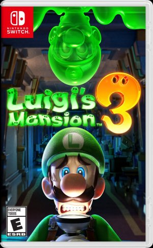 Luigi's Mansion 3 Cover Art | Nintendo Switch | Video Games | Gaming | DoublexJump.com