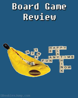 Bananagrams | Board Game | Gaming | Doublexjump.com