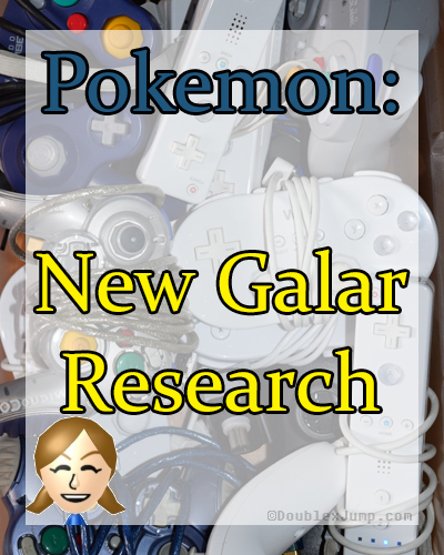 New Galar Research | Pokemon | Gaming News | Nintendo | Nintendo Switch | Pokemon News | Video Games | DoublexJump.com
